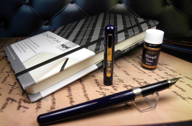 Diplomat Fountain Pen Cartridges - Black - Pack of 6
