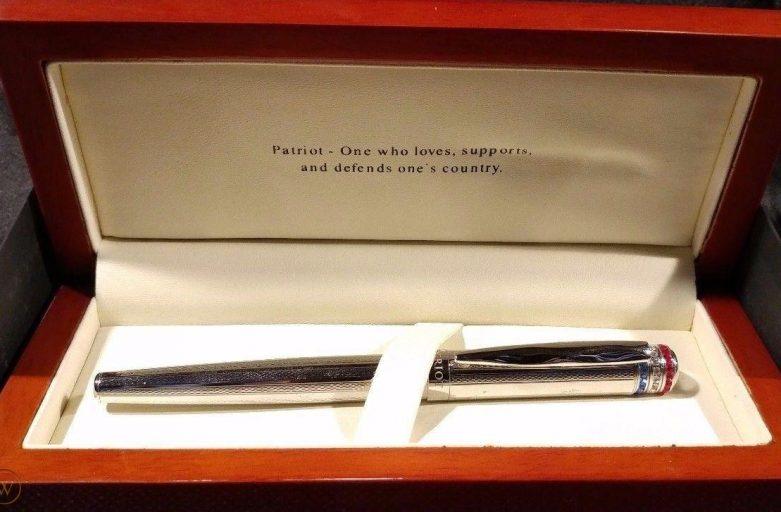 X-Pen Paradise Ballpoint Pen - Satin Chrome with Chrome Cap