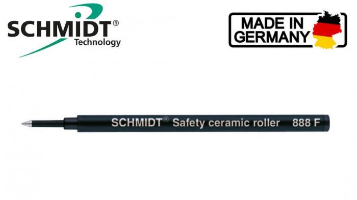 Schmidt 888 Rollerball Refill - Black Fine 0.6mm
