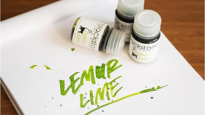 LEMUR LIME Fountain Pen Ink - 30ml PP Bottle