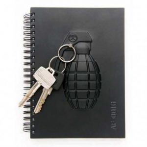 Armed Notebook - Grenade