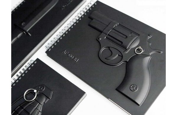 Armed Notebook – Hand Gun