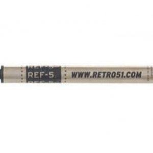 Retro 51 #5 Schmidt 8126 Desk Set Rollerball Refill Black